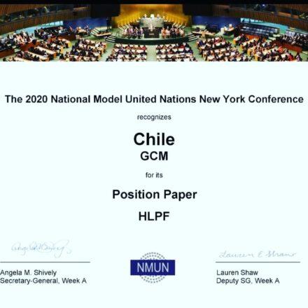 Giovani Campani nel Mondo vince la Position Paper Award